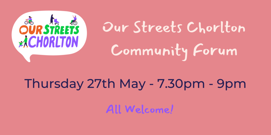 Join The Our Streets Community Forum Ma